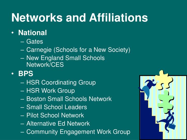 Networks and Affiliations