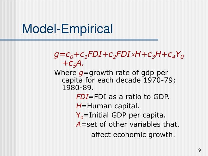 Model-Empirical