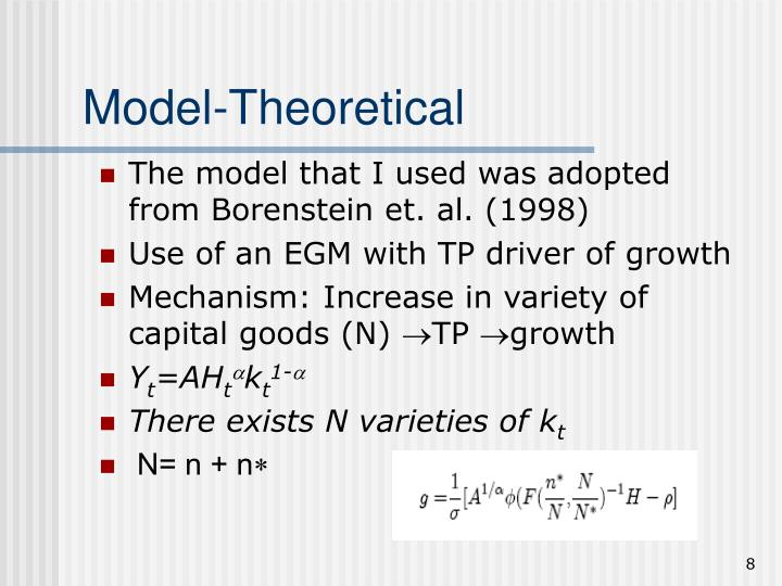Model-Theoretical