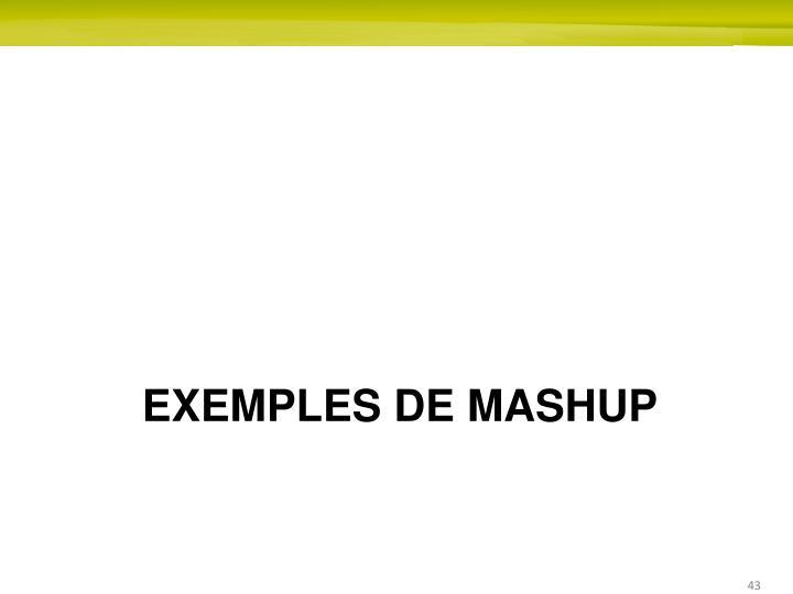 Exemples de