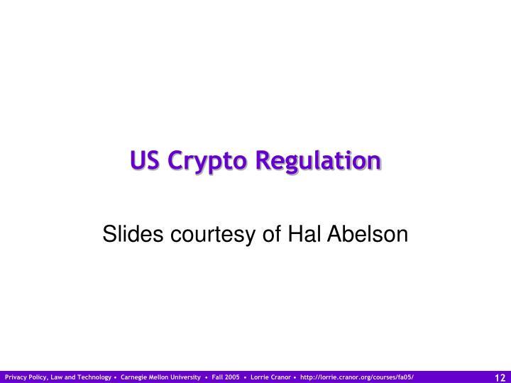 US Crypto Regulation