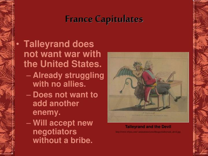 France Capitulates