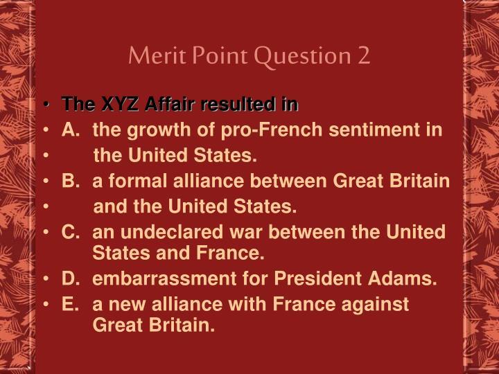 Merit Point Question 2