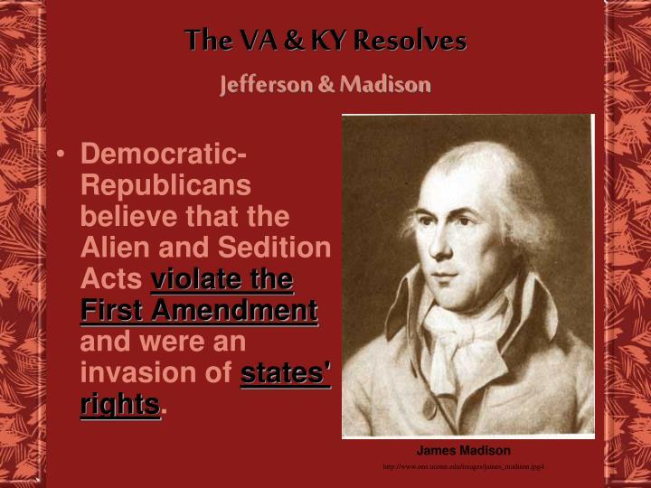 The VA & KY Resolves