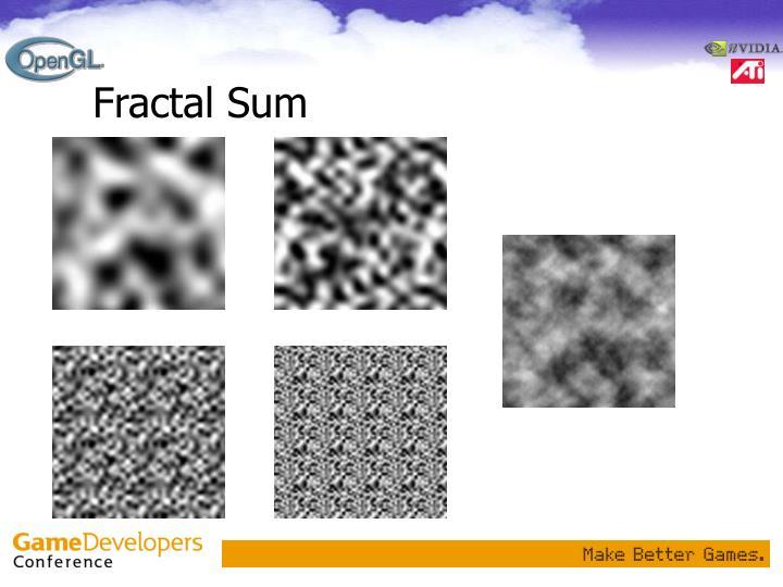 Fractal Sum