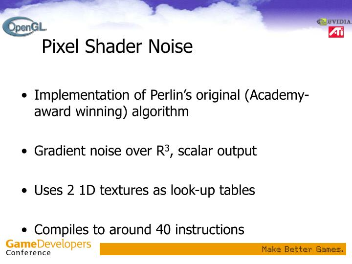 Pixel Shader Noise