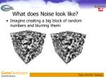 what does noise look like