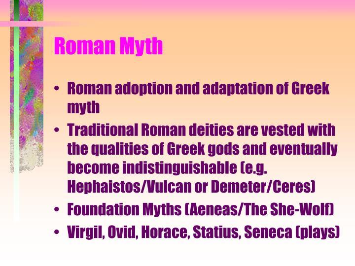 Roman Myth