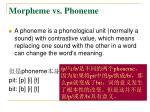 morpheme vs phoneme