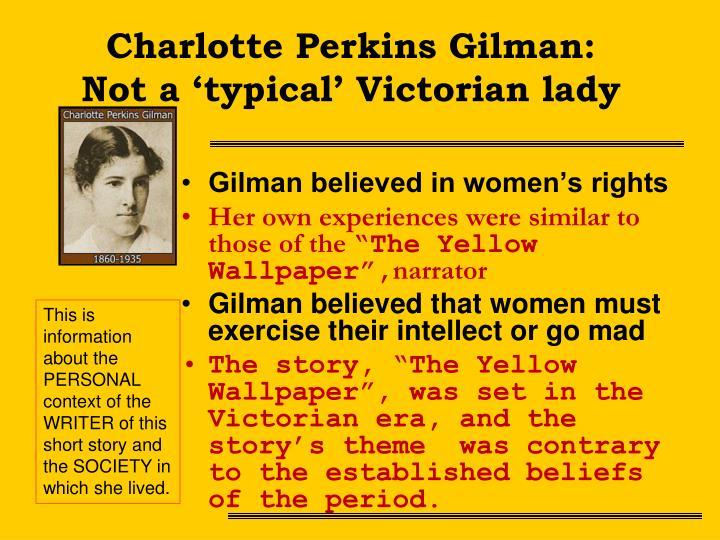 Charlotte Perkins Gilman: