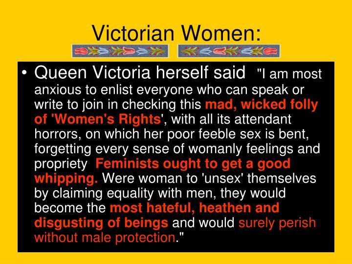 Victorian Women: