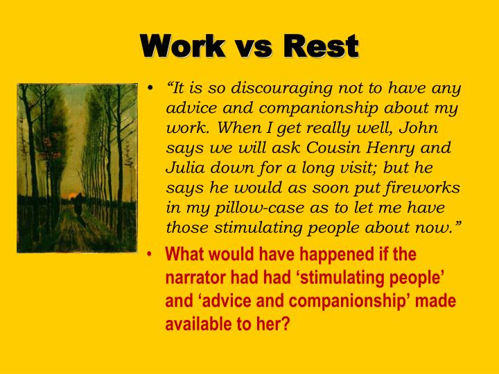 Work vs Rest