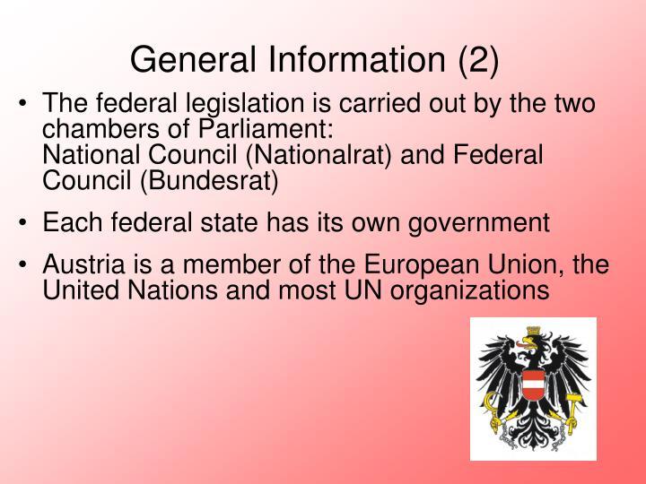 General Information (2)