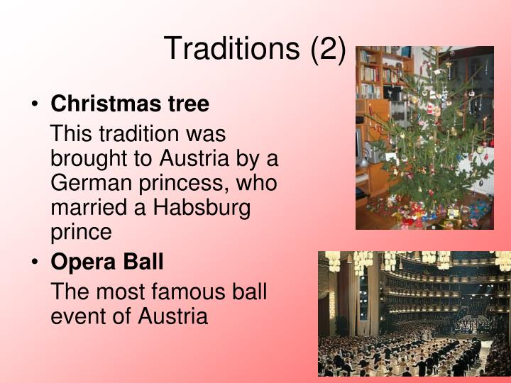 Traditions (2)