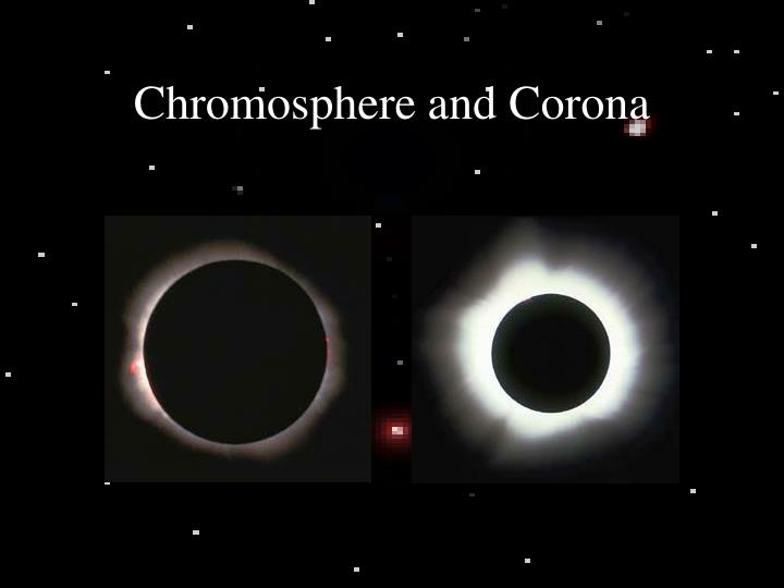 Chromosphere and Corona