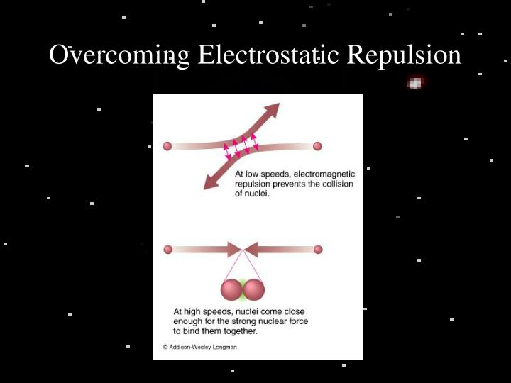 Overcoming Electrostatic Repulsion