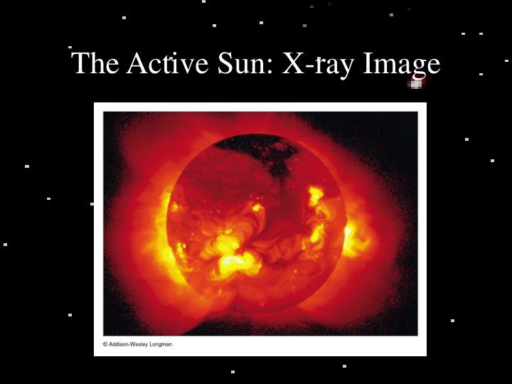 The Active Sun: X-ray Image