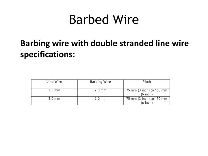 Barbed wire3