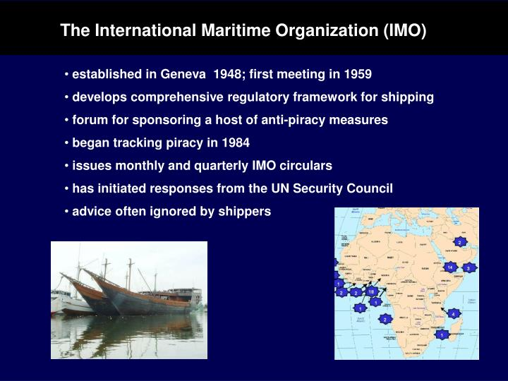 The International Maritime Organization (IMO)