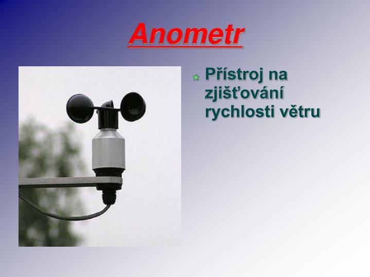 Anometr