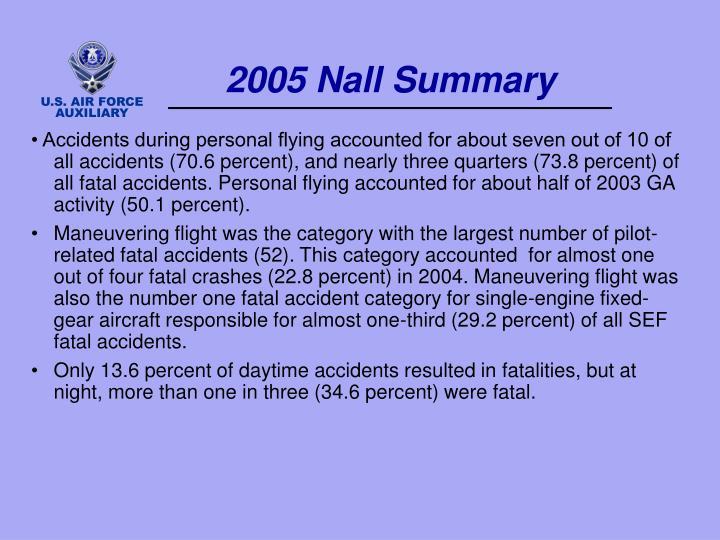 2005 Nall Summary