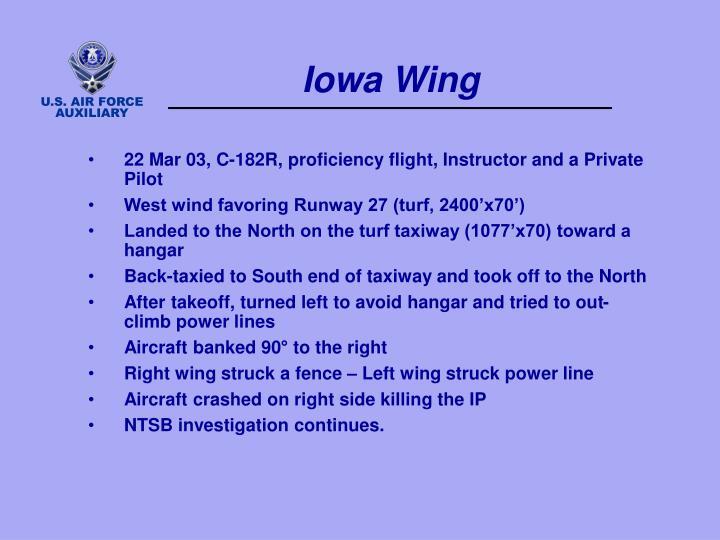 Iowa Wing