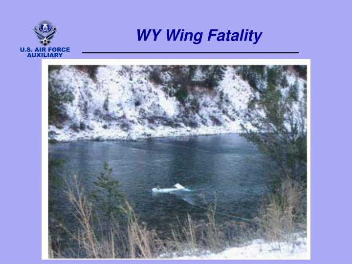 WY Wing Fatality