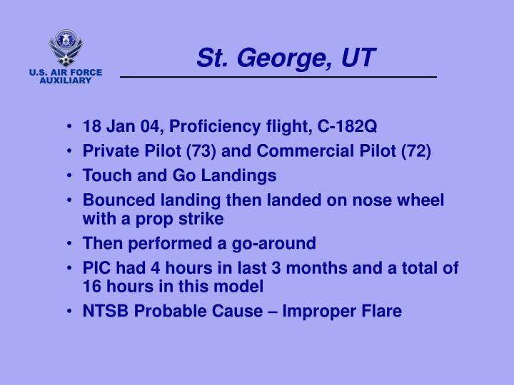 St. George, UT