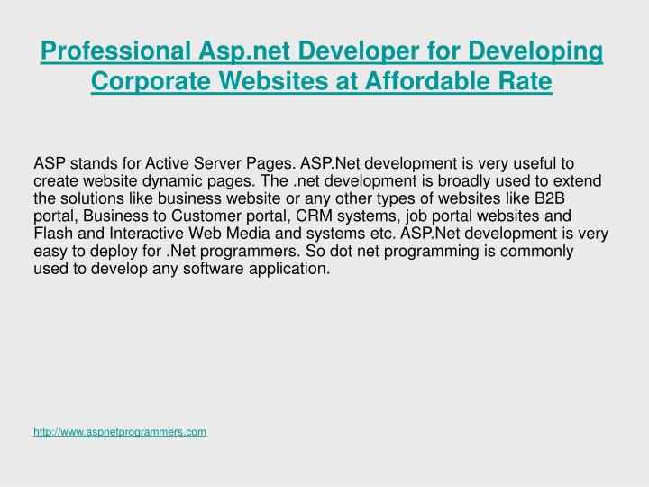 Professional asp net developer for developing corporate websites at affordable rate l.jpg