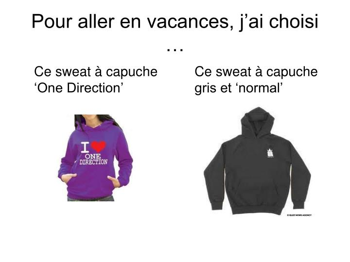 Ce sweat à capuche 'One Direction'