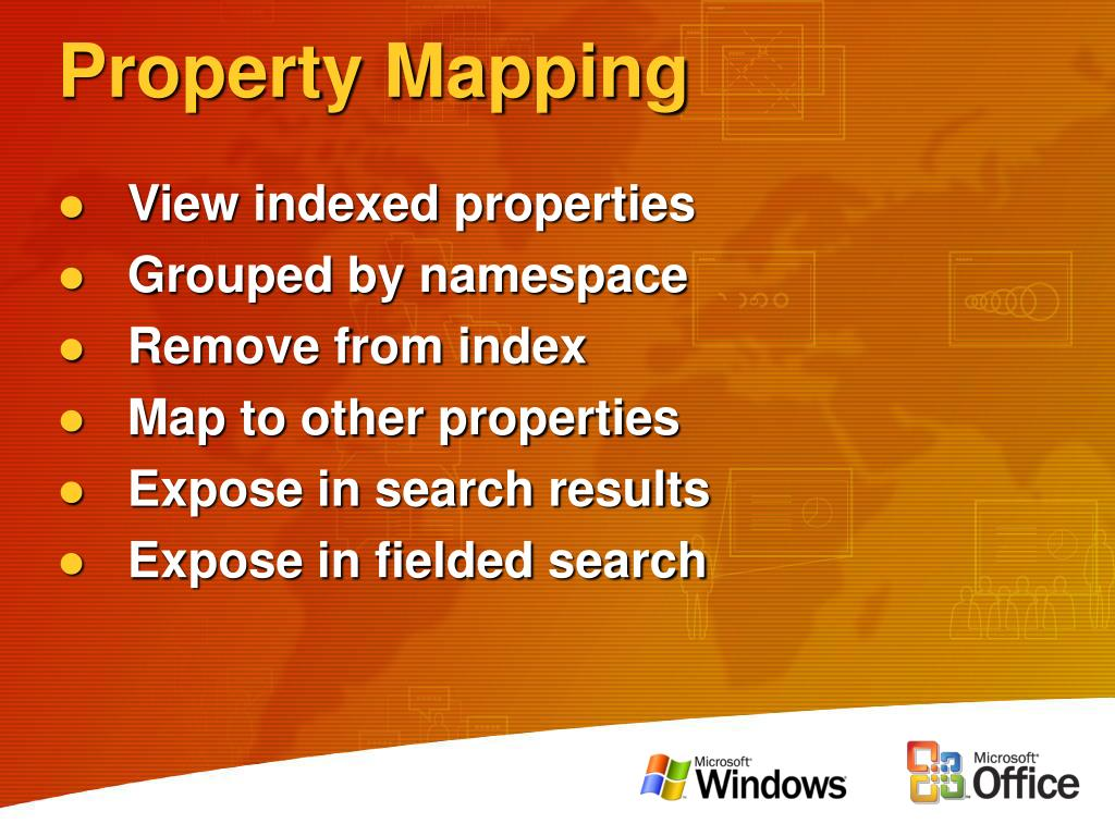 Property Mapping