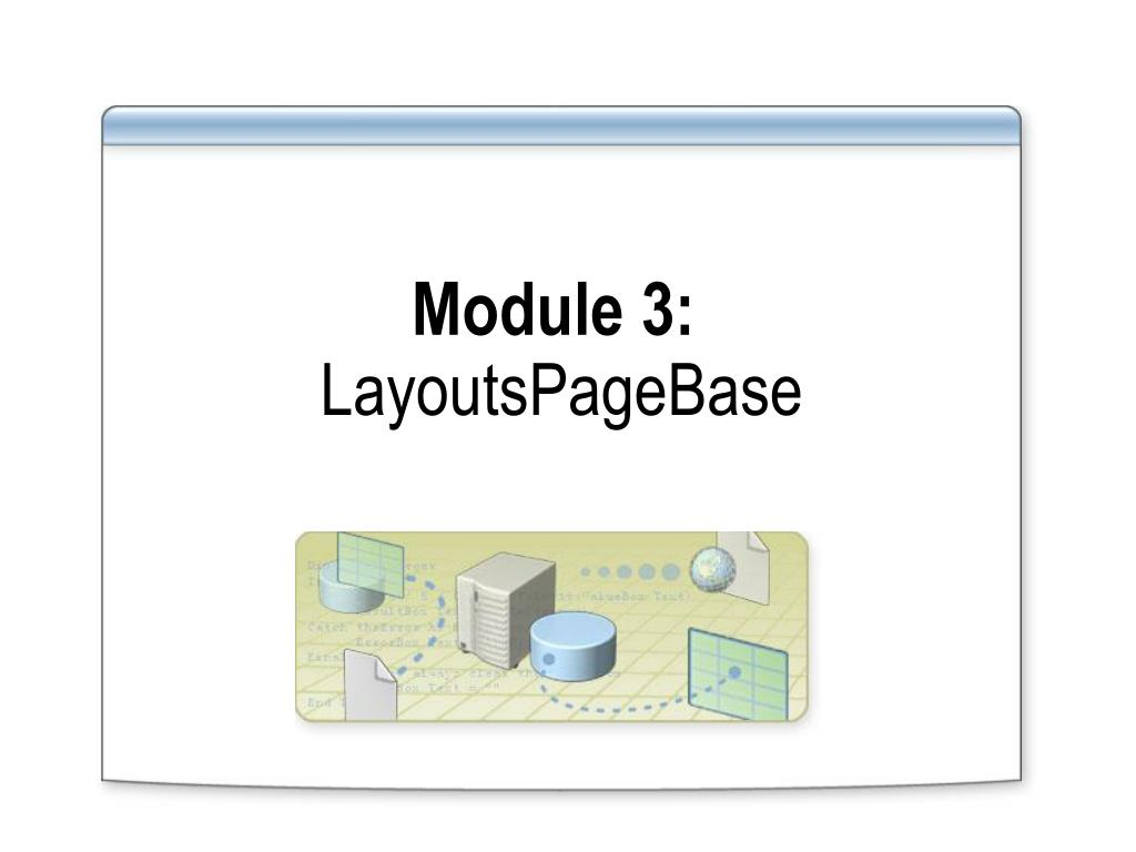 Module 3: