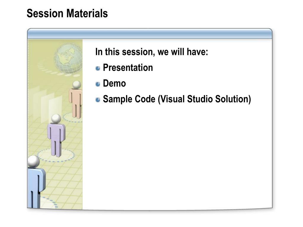 Session Materials