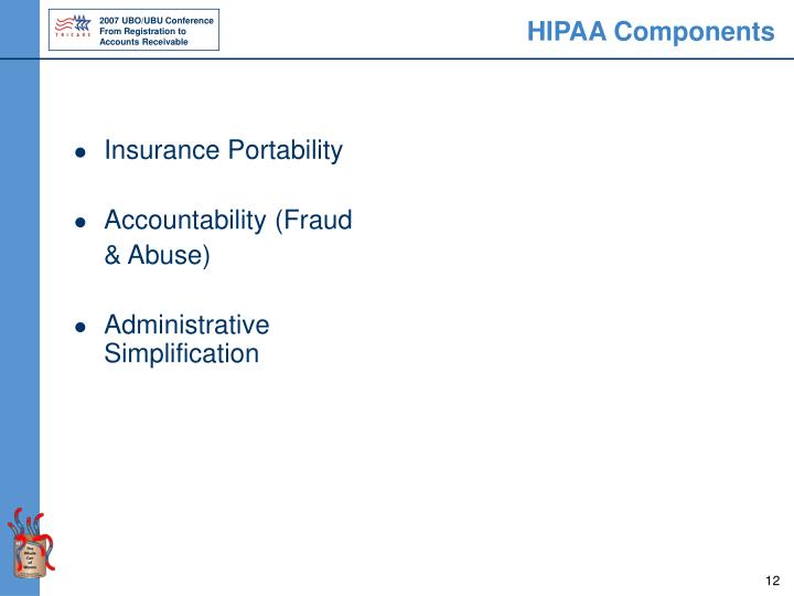 HIPAA Components