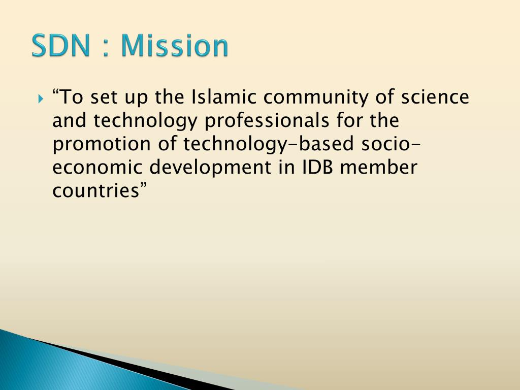 SDN : Mission