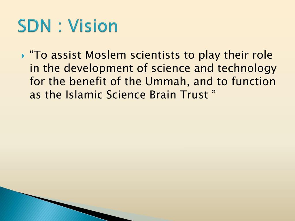 SDN : Vision
