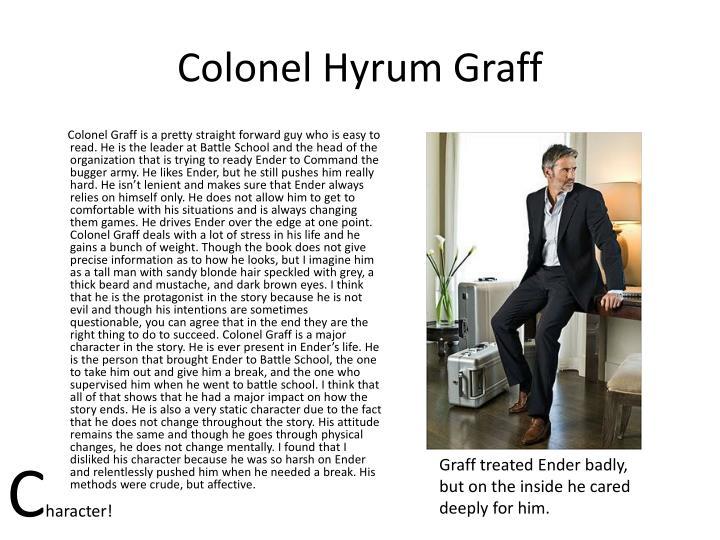 Colonel Hyrum Graff