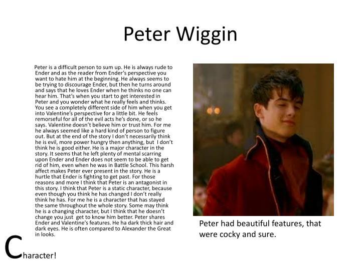 Peter Wiggin