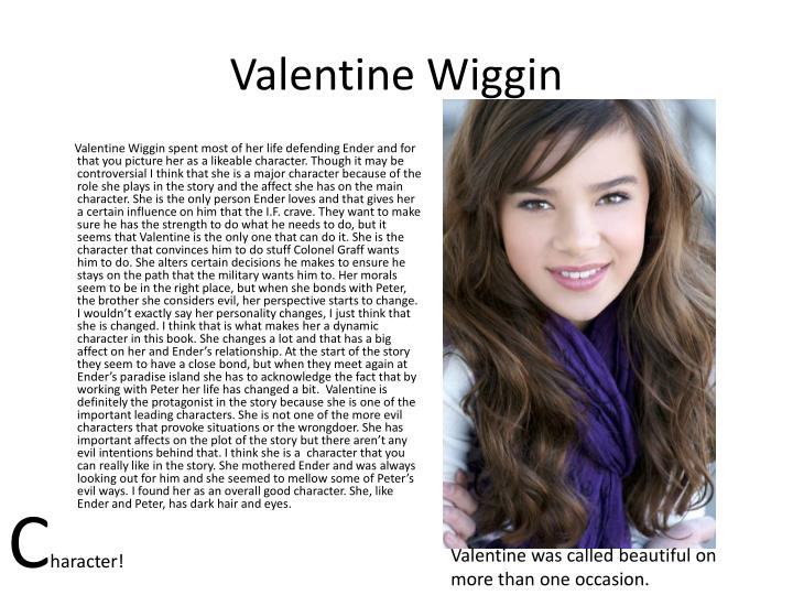 Valentine Wiggin