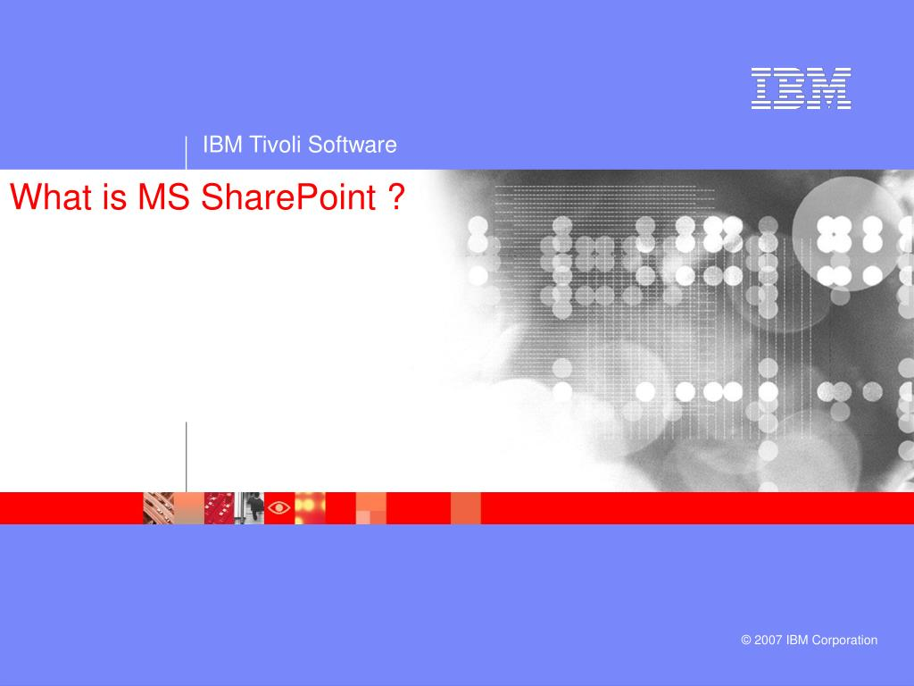 What is MS SharePoint ?
