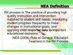 nea definition