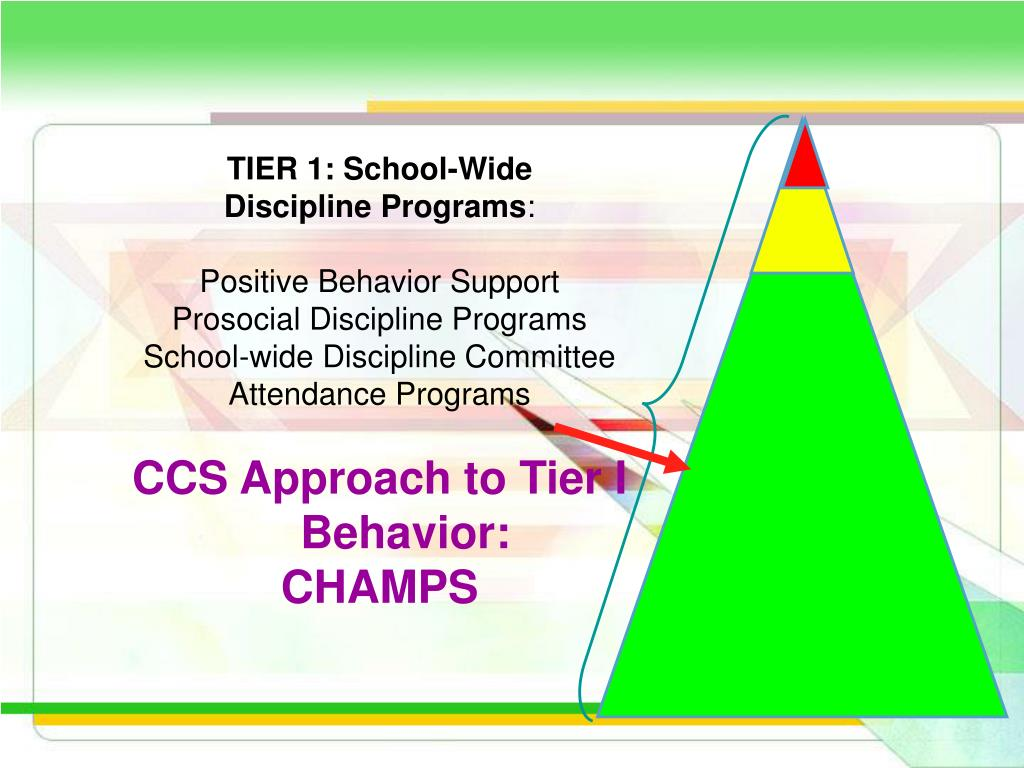 TIER 1: School-Wide