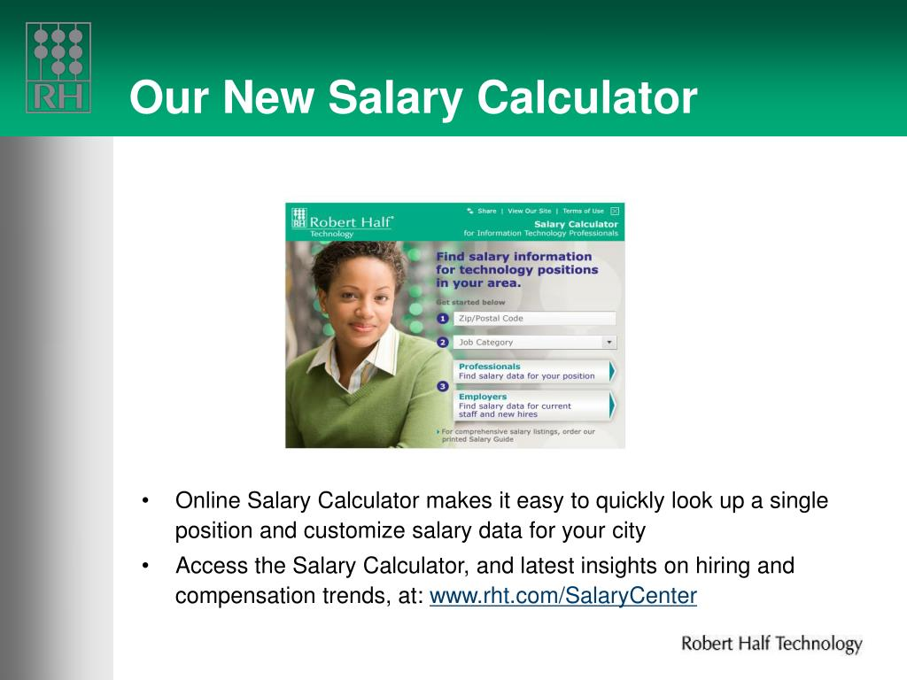Our New Salary Calculator