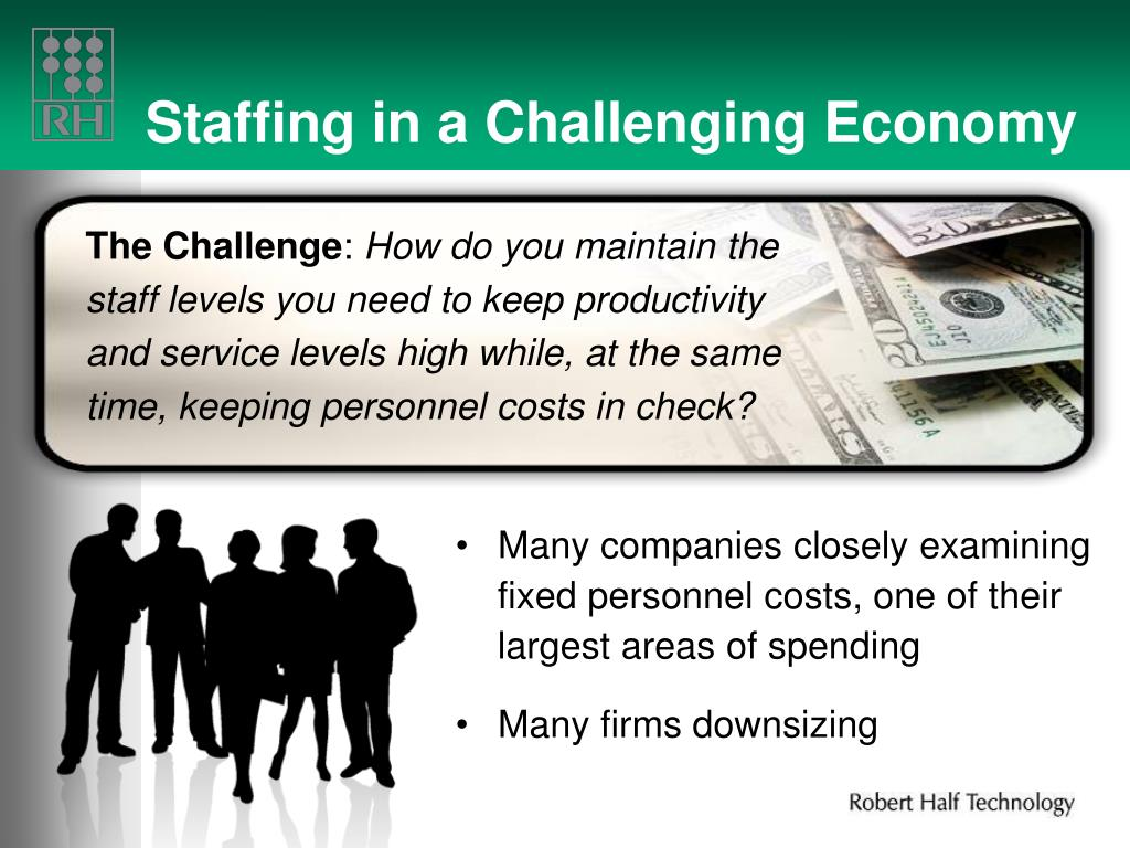Staffing in a Challenging Economy