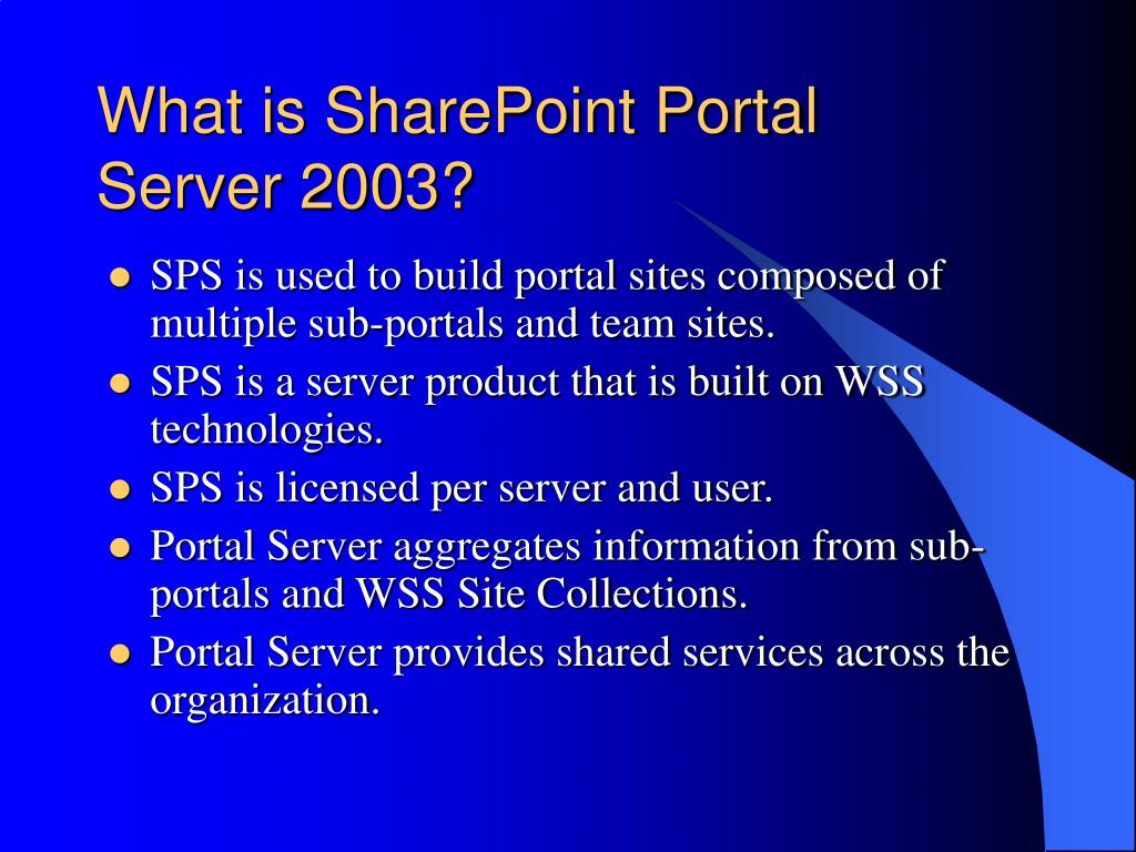 What is SharePoint Portal
