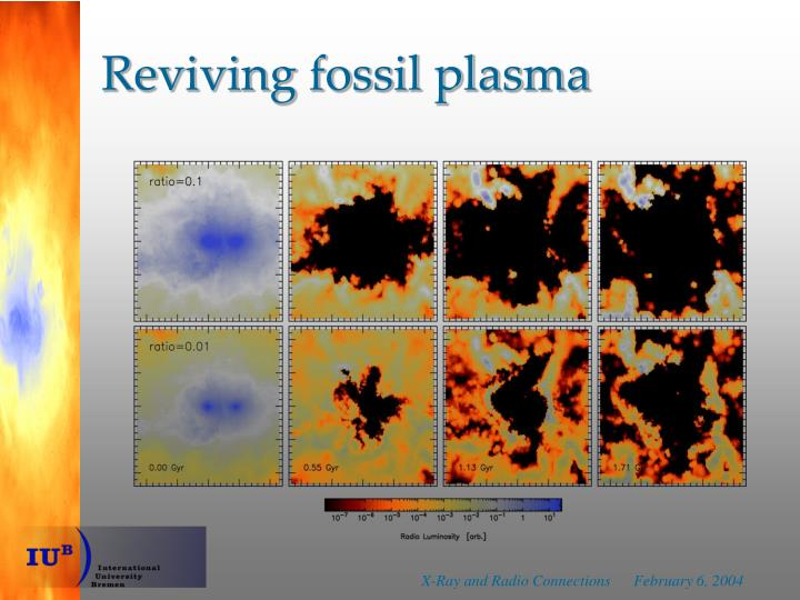 Reviving fossil plasma