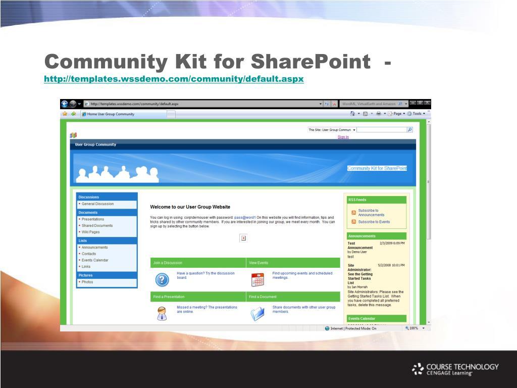 Community Kit for SharePoint  -