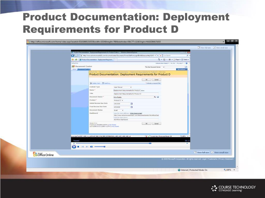Product Documentation: Deployment Requirements for Product D