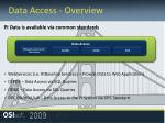 data access overview