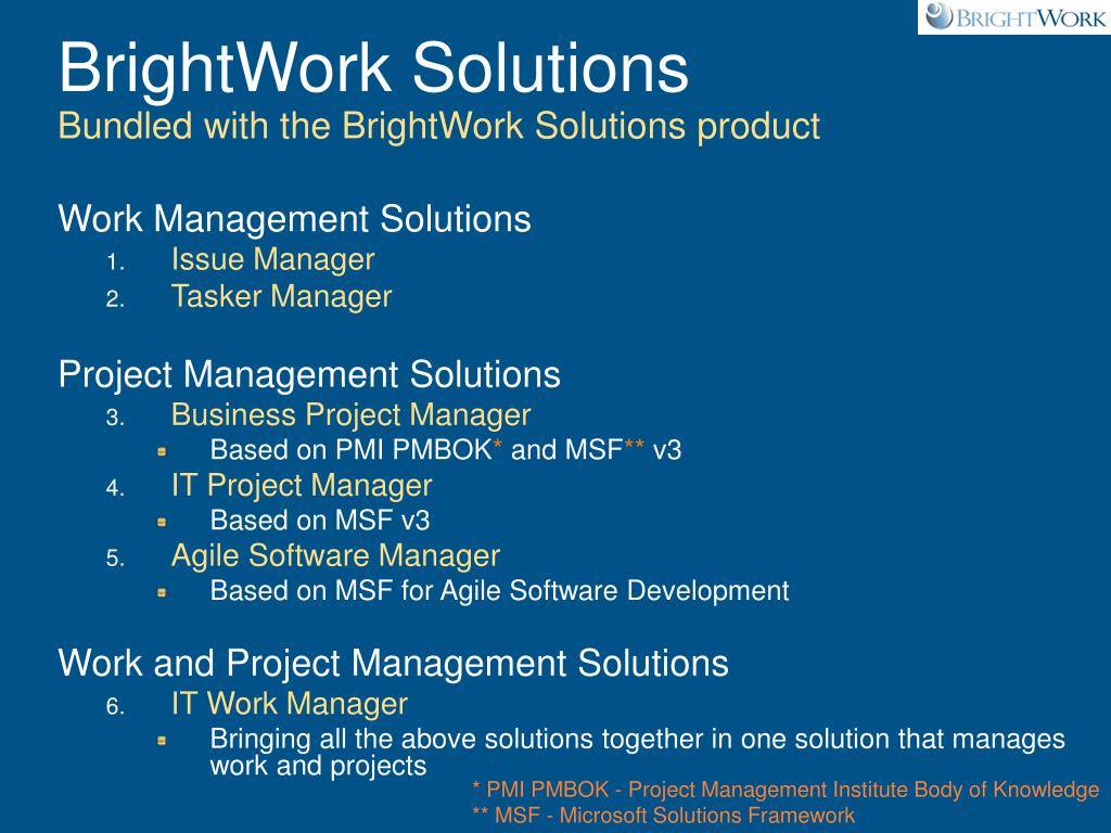 BrightWork Solutions